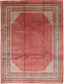 Sarough Mir Matta 272X362 Äkta Orientalisk Handknuten Mörkröd/Roströd Stor (Ull, Persien/Iran)