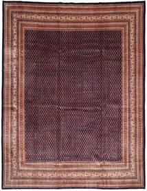 サルーク Mir 絨毯 294X393 オリエンタル 手織り 深紅色の/黒 大きな (ウール, ペルシャ/イラン)