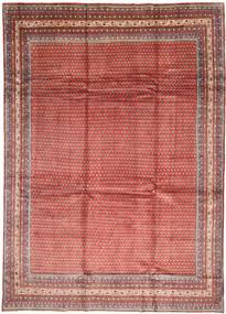 Sarough Mir Matta 262X370 Äkta Orientalisk Handknuten Mörkröd/Brun Stor (Ull, Persien/Iran)