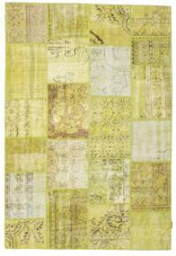 パッチワーク 絨毯 158X232 モダン 手織り 黄色/オリーブ色 (ウール, トルコ)