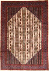 Koliai Matto 210X306 Itämainen Käsinsolmittu Ruskea/Tummanpunainen (Villa, Persia/Iran)