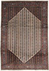 Koliai Matta 207X295 Äkta Orientalisk Handknuten Mörkbrun/Ljusbrun (Ull, Persien/Iran)
