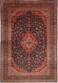 Keshan Rug 302X443 Authentic  Oriental Handknotted Dark Red/Brown Large (Wool, Persia/Iran)