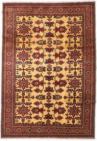 Kazak Matto 209X297 Itämainen Käsinsolmittu Tummanpunainen/Tummanruskea (Villa, Pakistan)