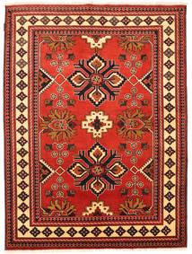 Kazak Matto 148X206 Itämainen Käsinsolmittu Tummanpunainen/Ruoste (Villa, Pakistan)