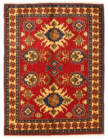 Kazak Rug 153X200 Authentic  Oriental Handknotted Rust Red/Dark Blue (Wool, Pakistan)