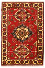 Kazak Matta 125X188 Äkta Orientalisk Handknuten Roströd/Mörkbrun (Ull, Pakistan)