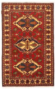 Kazak Rug 100X162 Authentic  Oriental Handknotted Rust Red/Dark Brown (Wool, Pakistan)