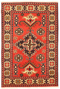 Kazak Rug 99X153 Authentic  Oriental Handknotted Orange/Dark Brown (Wool, Pakistan)