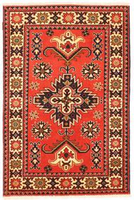 Kazak Matto 99X153 Itämainen Käsinsolmittu Oranssi/Tummanruskea (Villa, Pakistan)