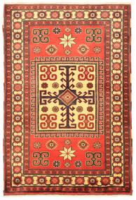 Kazak Vloerkleed 109X163 Echt Oosters Handgeknoopt Oranje/Roestkleur (Wol, Pakistan)