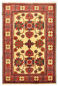 Kazak Vloerkleed 104X161 Echt Oosters Handgeknoopt Roestkleur/Oranje (Wol, Pakistan)