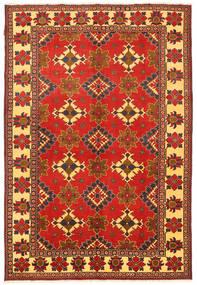 Kazak Matta 203X301 Äkta Orientalisk Handknuten Roströd/Orange (Ull, Pakistan)