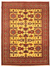 Kazak Teppe 209X281 Ekte Orientalsk Håndknyttet Rust/Gul (Ull, Pakistan)