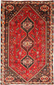 Qashqai Rug 170X270 Authentic  Oriental Handknotted Dark Red/Rust Red (Wool, Persia/Iran)