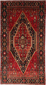 Ghashghai Teppe 154X302 Ekte Orientalsk Håndknyttet Mørk Rød/Mørk Brun (Ull, Persia/Iran)