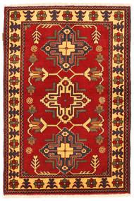 Kazak Teppe 100X152 Ekte Orientalsk Håndknyttet Rust/Mørk Brun (Ull, Pakistan)