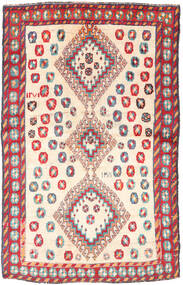 Qashqai Rug 120X188 Authentic  Oriental Handknotted Light Brown/Light Pink (Wool, Persia/Iran)
