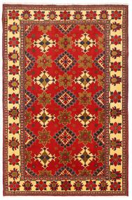 Kazak Vloerkleed 195X305 Echt Oosters Handgeknoopt Roestkleur/Donkerrood (Wol, Pakistan)