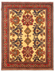 Kazak Rug 156X203 Authentic  Oriental Handknotted Orange/Dark Brown (Wool, Pakistan)
