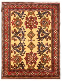 Kazak Matto 156X203 Itämainen Käsinsolmittu Oranssi/Tummanruskea (Villa, Pakistan)