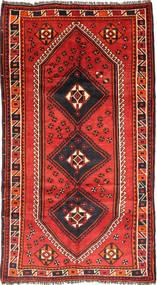 Ghashghai Tæppe 151X283 Ægte Orientalsk Håndknyttet Mørkerød/Orange (Uld, Persien/Iran)