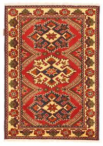 Kazak Rug 81X120 Authentic  Oriental Handknotted Rust Red/Dark Brown (Wool, Pakistan)