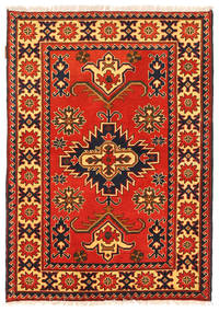 Kazak Rug 103X150 Authentic  Oriental Handknotted Rust Red/Orange (Wool, Pakistan)
