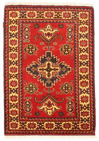 Kazak Vloerkleed 105X150 Echt Oosters Handgeknoopt Oranje/Roestkleur (Wol, Pakistan)