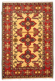 Kazak Rug 106X161 Authentic  Oriental Handknotted Orange/Rust Red (Wool, Pakistan)