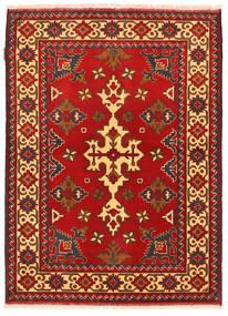 Kazak Matto 105X149 Itämainen Käsinsolmittu Ruoste/Tummanruskea (Villa, Pakistan)