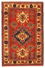 Kazak Rug 98X151 Authentic  Oriental Handknotted Rust Red/Orange (Wool, Pakistan)