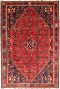 Gashgai Alfombra 201X300 Oriental Hecha A Mano Rojo Oscuro/Marrón/Óxido/Roja (Lana, Persia/Irán)