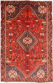 Qashqai Rug 167X258 Authentic  Oriental Handknotted Dark Red/Orange (Wool, Persia/Iran)