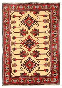 Kazak Teppe 103X153 Ekte Orientalsk Håndknyttet Mørk Rød/Mørk Brun (Ull, Pakistan)