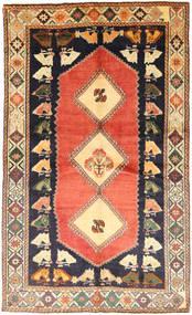 Ghashghai Matto 141X235 Itämainen Käsinsolmittu Vaaleanruskea/Violetti (Villa, Persia/Iran)