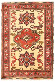 Kazak Teppich  119X175 Echter Orientalischer Handgeknüpfter Gelb/Braun (Wolle, Pakistan)