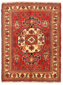 Kazak Rug 149X197 Authentic  Oriental Handknotted Dark Red/Rust Red (Wool, Pakistan)