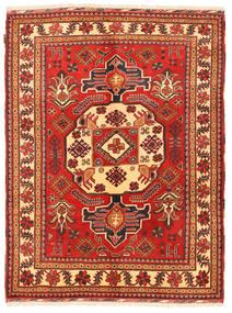 Kazak Matto 149X197 Itämainen Käsinsolmittu Tummanpunainen/Ruoste (Villa, Pakistan)