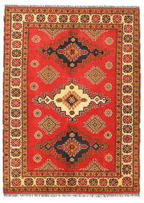 Kazak Rug 154X209 Authentic  Oriental Handknotted Orange/Rust Red (Wool, Pakistan)