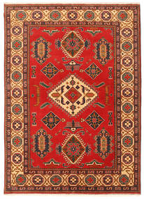 Kazak Teppe 203X289 Ekte Orientalsk Håndknyttet Rust/Mørk Brun (Ull, Pakistan)