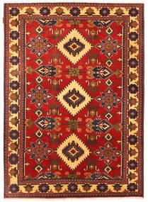 Kazak Matto 151X212 Itämainen Käsinsolmittu Ruoste/Tummanruskea (Villa, Pakistan)
