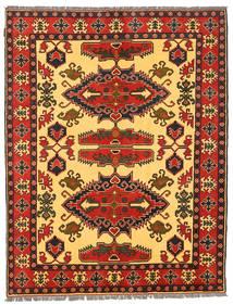 Kazak Rug 157X206 Authentic Oriental Handknotted Rust Red/Dark Brown (Wool, Pakistan)