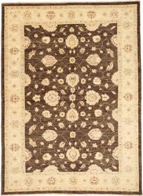 Ziegler Matto 168X234 Itämainen Käsinsolmittu Tummanbeige/Ruskea (Villa, Pakistan)