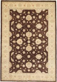 Ziegler Matto 168X236 Itämainen Käsinsolmittu Tummanbeige/Vaaleanruskea (Villa, Pakistan)