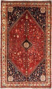 Ghashghai Teppich  161X269 Echter Orientalischer Handgeknüpfter Dunkelrot/Hellbraun (Wolle, Persien/Iran)