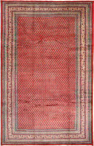 Sarouk Mir Rug 208X321 Authentic  Oriental Handknotted Dark Red/Rust Red (Wool, Persia/Iran)