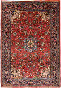 Mahal Rug 214X309 Authentic  Oriental Handknotted Dark Red/Rust Red (Wool, Persia/Iran)