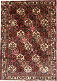 Bakhtiari Rug 205X291 Authentic  Oriental Handknotted Dark Red/Dark Brown (Wool, Persia/Iran)