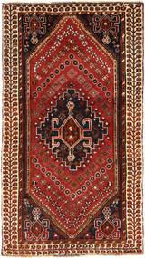 Ghashghai Matto 100X180 Itämainen Käsinsolmittu Tummanpunainen/Tummanruskea (Villa, Persia/Iran)